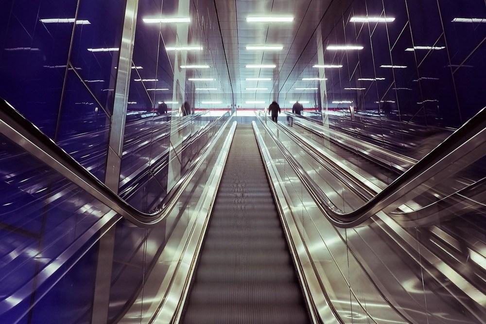 När rulltrappan behöver service